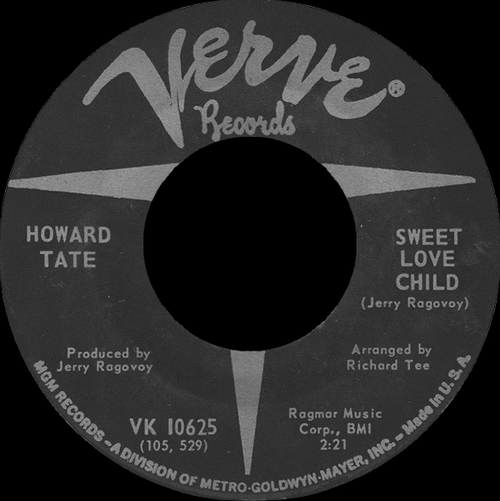 """Howard Tate : Album """" Get It While You Can """" Verve Records V6-5022 [ US ]"""
