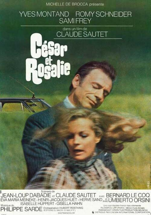 CESAR ET ROSALIE AFFICHE FRANCAISE 1972