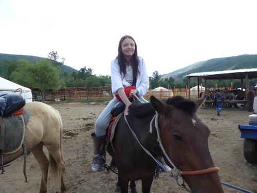 Voyage Transsibérien 2017, le 20/07, 13 ème jour,  Mongolie, promenade à cheval