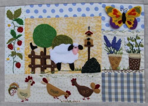 Panneau printemps : les poulettes