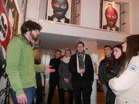 De la galerie à la rue, les élèves ont pu confronter leurs connaissances sur ce thème.
