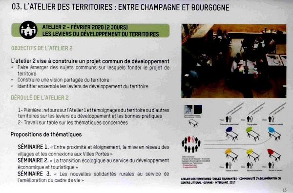 """Deux adhérents de la Société Mycologique du Châtillonnais ont assisté à """"L'Atelier des Territoires"""" consacré au nouveau Parc National des Feuillus"""