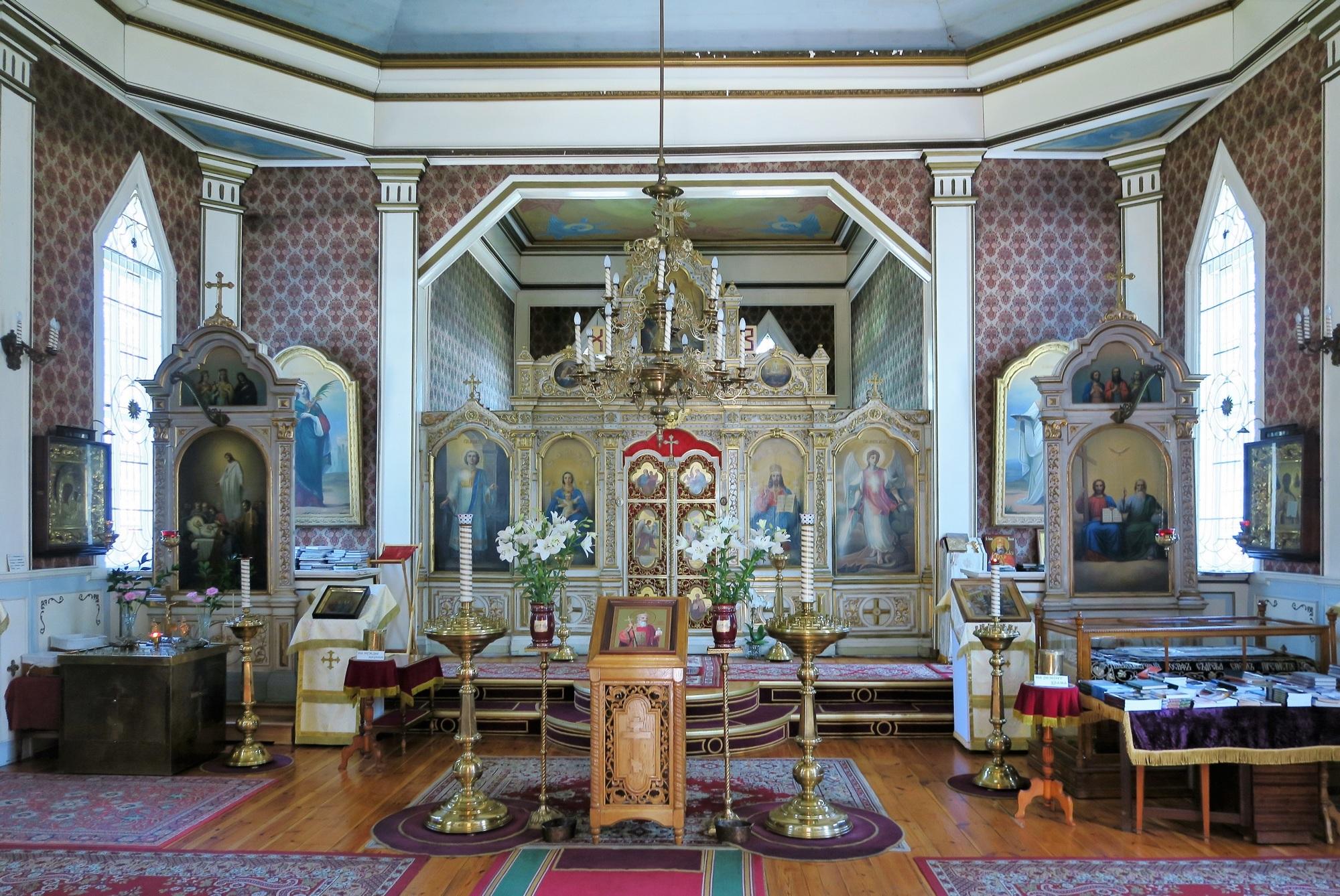 """Photo """"volée"""" car il est interdit de photgraphier dans de nombreuses églises Orthodoxes"""