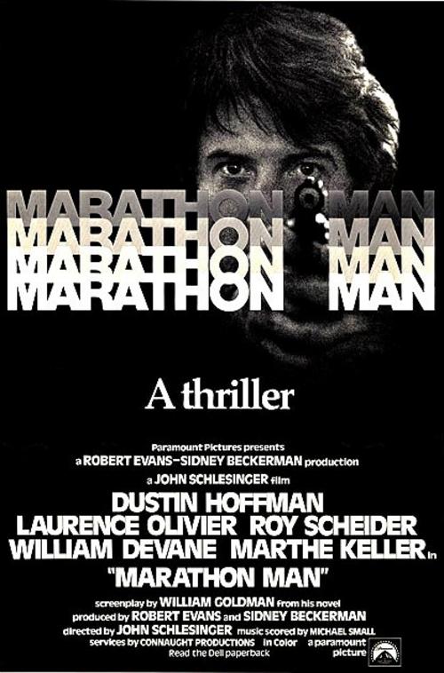 Marathon man, John Schlesinger, 1975