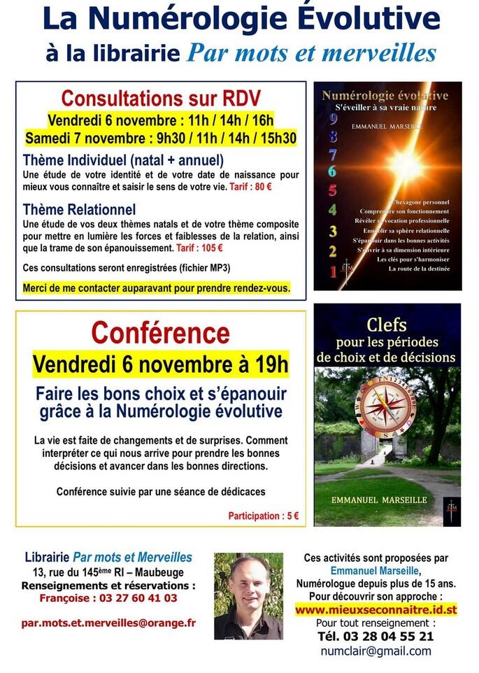 Activités à Maubeuge 6&7 novembre