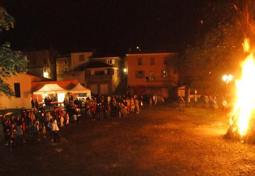 Feu de la Saint Jean et Randonnée Pédestre à Beaulieu...18.06.2016...suite