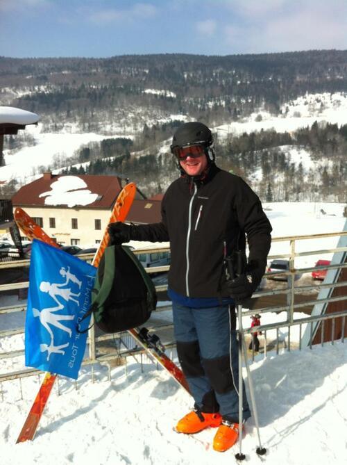 la famille défendu sur les pistes des Monts Jura ! Bravo Vincent