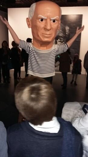 Voyage à Paris l'exposition Picasso au Grand Palais