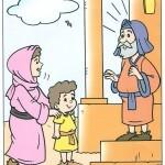 Ana leva Samuel ao Templo