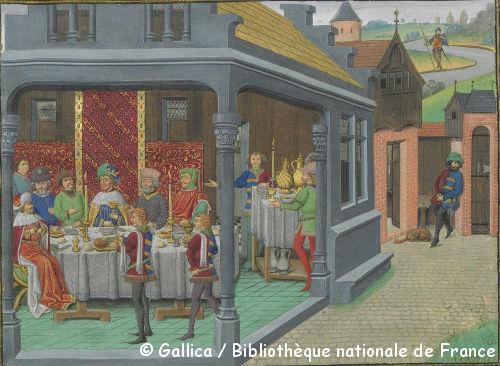 2 février 2013 : Banquet Médiéval de la Tour du Bost