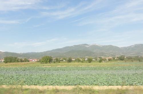 30 septembre: Traversée de la Macédoine