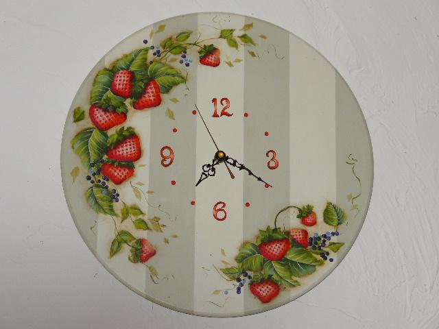 L'horloge aux Fraises