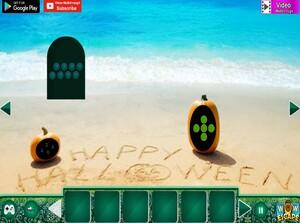 Jouer à Halloween Dracula beach escape