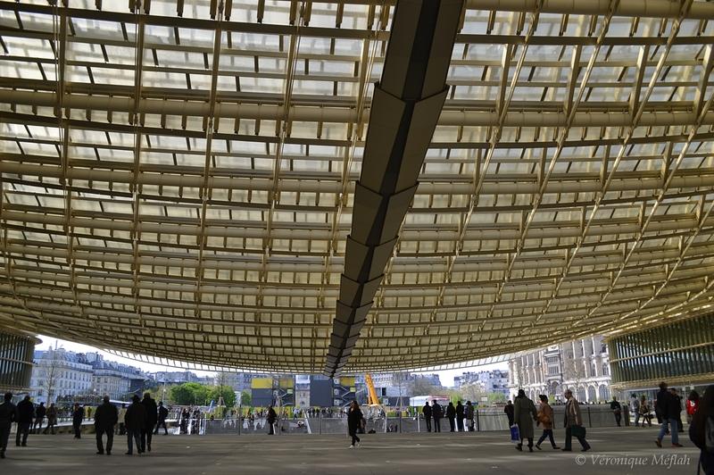 La Canopée des Halles à ouvert ses portes ce 5 avril 2016