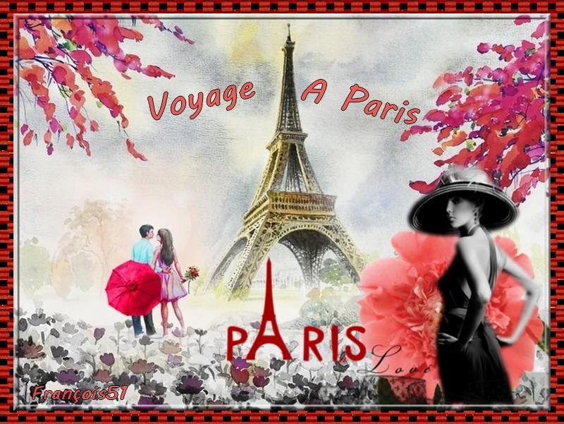 Voyage à Paris pour Georgette !
