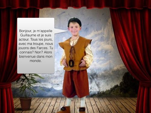 un jeu sérieux sur le théâtre médiéval