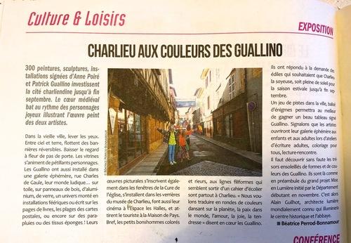 """""""Charlieu aux couleurs des Guallino"""""""