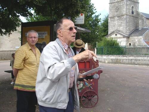 La visite insolite de Saint Broing les Moines...