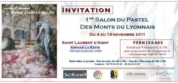 Pastel Monts Lyonnais