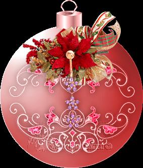 Boules de Noël création 3