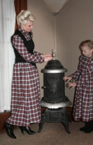 Robe en flanelle plaid 1
