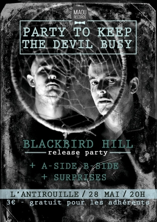 Blackbird Hill - Flyer concert