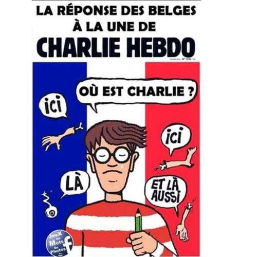 Les Belges répondent à Charkie Hebdo