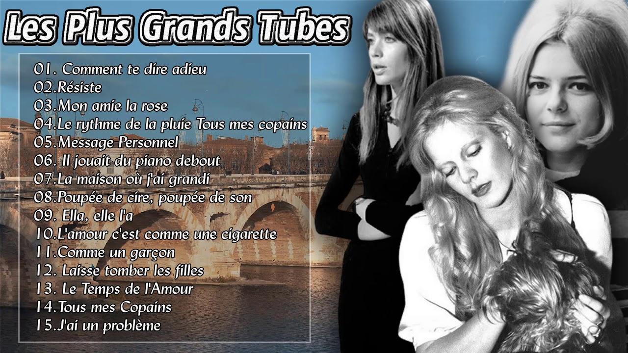 Francoise hardy, France Gall, Sylvie vartan: Best of 2018 Meilleures  Chansons en Français - YouTube