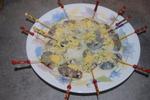 Brochette de Gambas à l'Ananas et Saveurs Citronnées