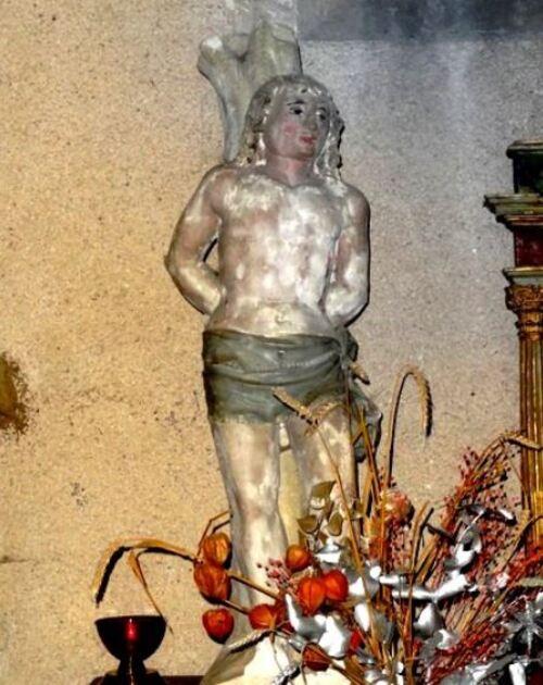 Saint Sébastien a été lui aussi prié lors des grandes épidémies qui ont affecté le Châtillonnais....