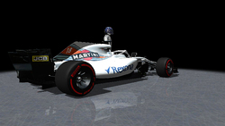 Williams Martini Racing - FW41 / Lance Stroll