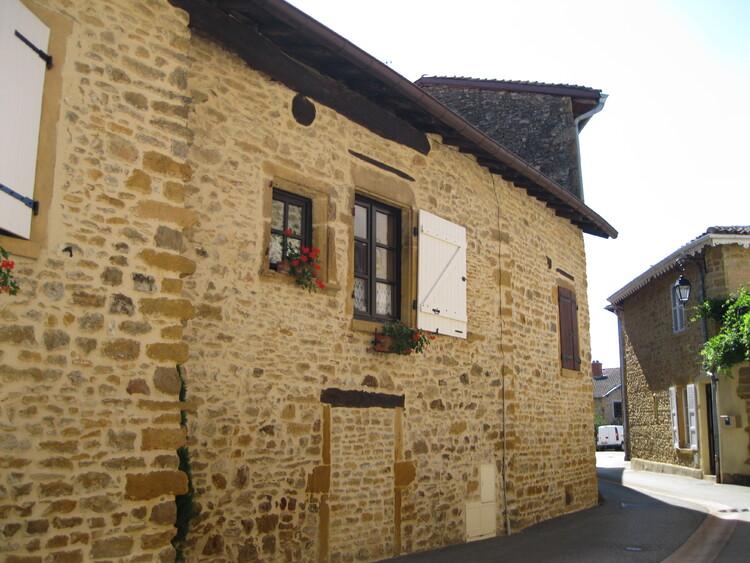 Charlieu dans la Loire..