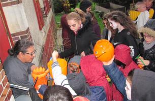 Des enfants motivés pour Halloween
