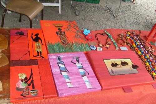 Exposition à Crevéchamps en Septembre 2008
