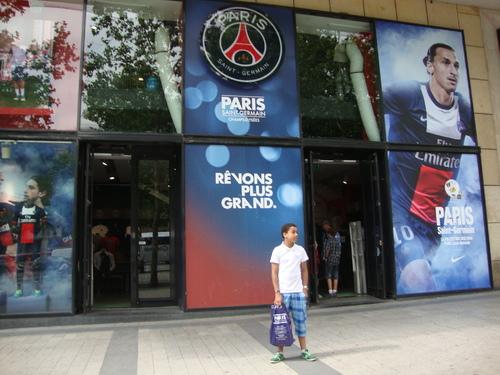 Une virée à Paris avec mon fiston !
