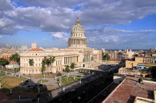 La Havane  Quartier du Capitole