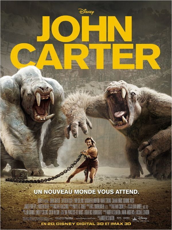 John Carter (2012) [BDRIP TRUEFRENCH] - 1CD