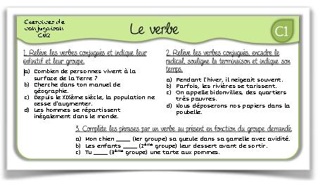 Tous mes exercices de français