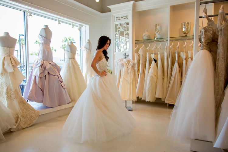 essayer robe de mariée