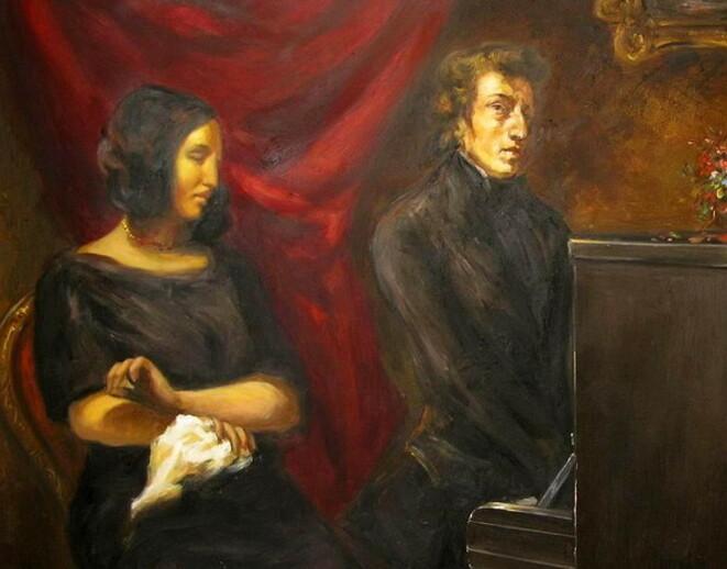 Paris, décembre 1836, mots et lettres à propos de Frédéric Chopin et Georges Sand