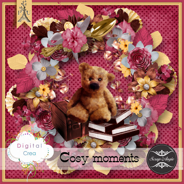 Cosy moments de Scrap'Angie
