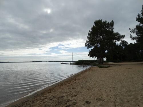 Belle journée d'été sur le lac de Lacanau...
