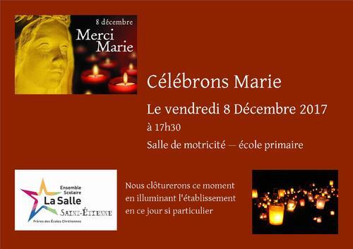 Célébration du 8 décembre