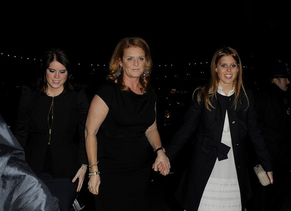Sarah, Beatrice et Eugénie et la mode