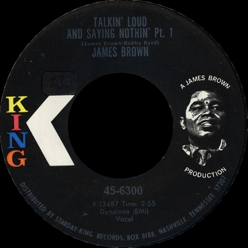 James Brown : Single SP King Records 45-6300 [ US ]