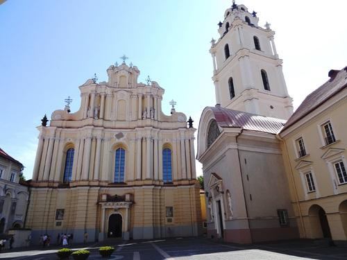 L'église de l'Université de Vilnius