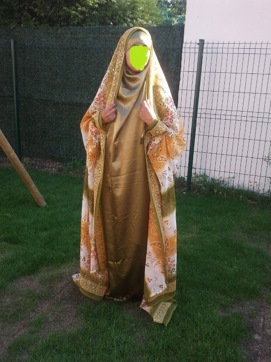 jilbab de mariage a 100euros - Jilbeb Mariage