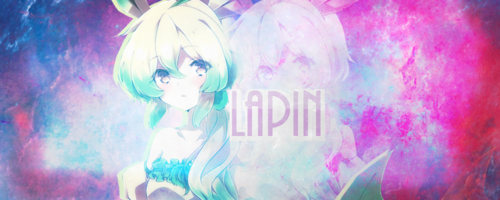 Création n°16 ~ Lapin
