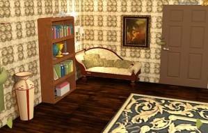 Antique bedroom escape