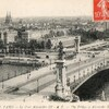 paris pont alexandre 3 carte 1919